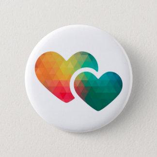 Teilen Sie Ihre Liebe Runder Button 5,7 Cm