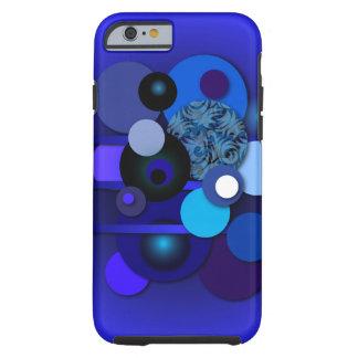 "Telefon-Kasten mit ""Kreis-Blaubeere "" Tough iPhone 6 Hülle"