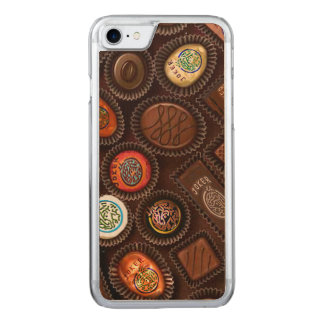 Telefon-Kasten mit Schokolade Mahjong Süßigkeiten Carved iPhone 8/7 Hülle