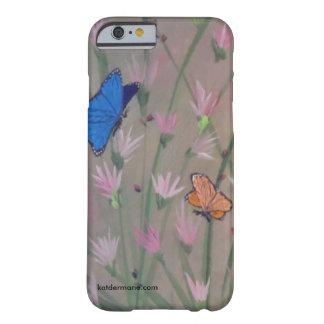 """Telefon-Kasten - """"Schmetterlinge sind frei """" Barely There iPhone 6 Hülle"""