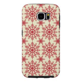 Telefon-Kasten Schneeflocke-Samsung-Galaxie-6