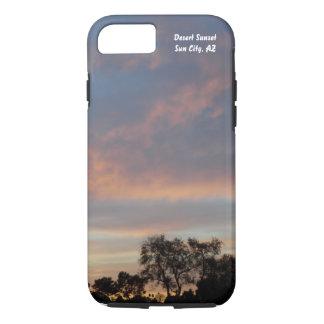 Telefon-Rechtssache 1 des Wüsten-Sonnenuntergang-I iPhone 7 Hülle