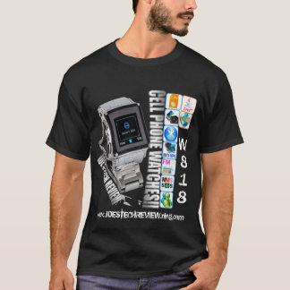 Telefon-T - Shirt der Uhr w818