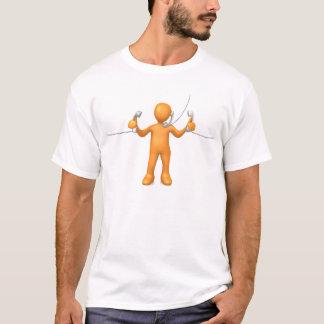 Telefon-Unterstützung T-Shirt