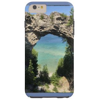 Telefonkasten-Foto von Ozean und von Klippe Tough iPhone 6 Plus Hülle