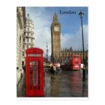 Telefonkasten Londons Big Ben (durch St.K) Postkarten