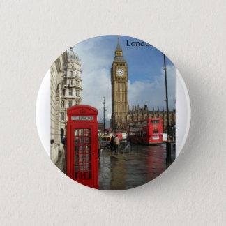 Telefonkasten Londons Big Ben (durch St.K) Runder Button 5,7 Cm