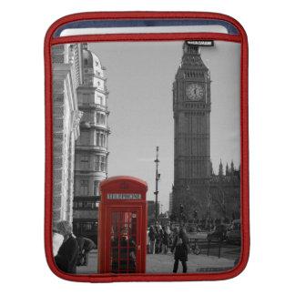 Telefonzelle Londons rote iPad Hülse Sleeves Für iPads