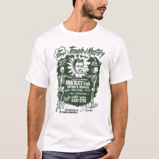 Tempel des Geheimnis-Gespenst-Show-Plakats T-Shirt