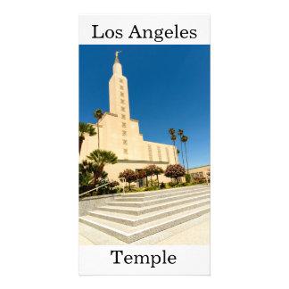 Tempel Los Angeless LDS Karte