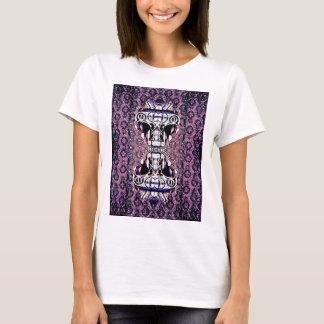 Tempel-Miezekatze T-Shirt