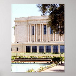 Tempel-Mormonenbild lds MESAs Arizona Poster