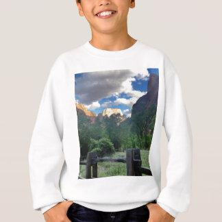 Tempel Sinawava Zion Nationalparks Utah Sweatshirt