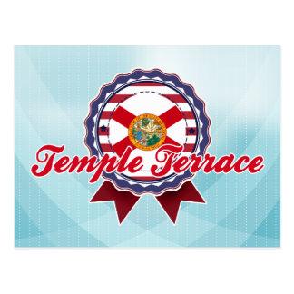 Tempel-Terrasse, FL Postkarte