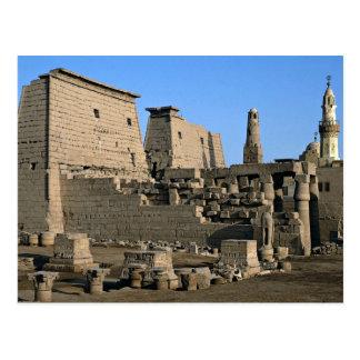 Tempel von Luxor, Luxor, Ägypten Wüste Postkarte