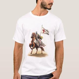 Templar Ritter-Kreuzfahrer-Jerusalem-Kreuz-T - T-Shirt