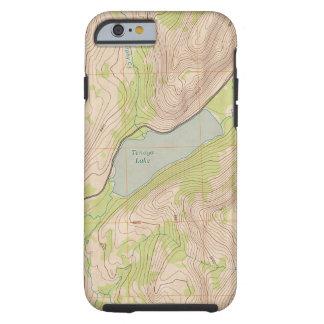 Tenaya See, Yosemite-topographische Karte Tough iPhone 6 Hülle