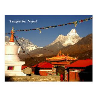 Tengboche Nepal Postkarte