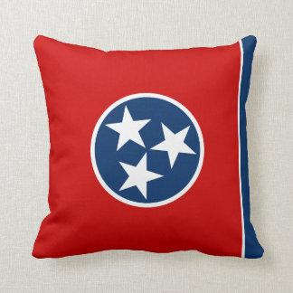 Tennessee-Flaggenkissen Kissen