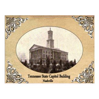 Tennessee-Staats-Hauptstadts-Gebäude-alte Postkarte