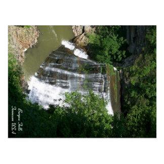 Tennessee-Wasserfall Postkarte