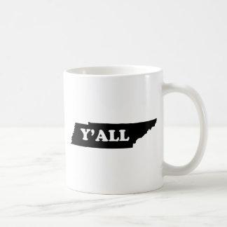 Tennessee Yall Kaffeetasse