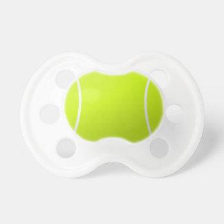 Tennis-Ball-Baby-Schnuller für junge Tennis-Fans! Schnuller