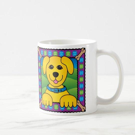 Tennis-Hund Kaffeetasse