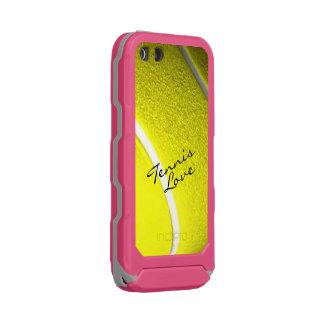 Tennis-Liebe-Rosa Incipio ATLAS ID™ iPhone 5 Hülle