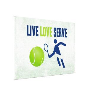 Tennis: Live. Liebe. Aufschlag Galerie Faltleinwand