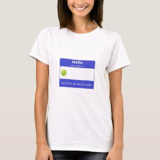 Tennis-Namensumbau-T - Shirt