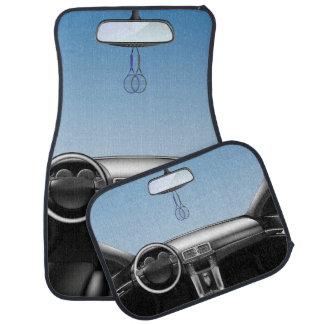 Tennis-Schläger-Auto-Armaturenbrett Autofußmatte