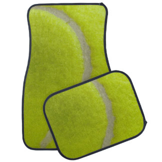 Tennisball-Druck-Muster-Hintergrund Automatte