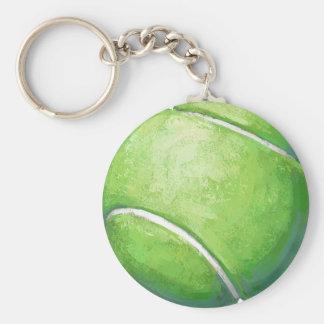 Tennisball Schlüsselanhänger