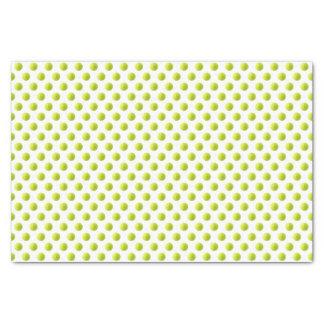 Tennisball-Seidenpapier Seidenpapier
