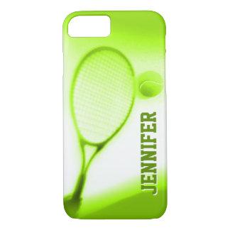 Tennisball- und Schlägersport grünt iPhone 7 iPhone 7 Hülle