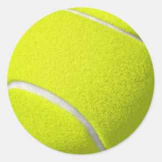 Tennisballaufkleber Runder Aufkleber