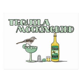Tequila-Spottdrossel Postkarte