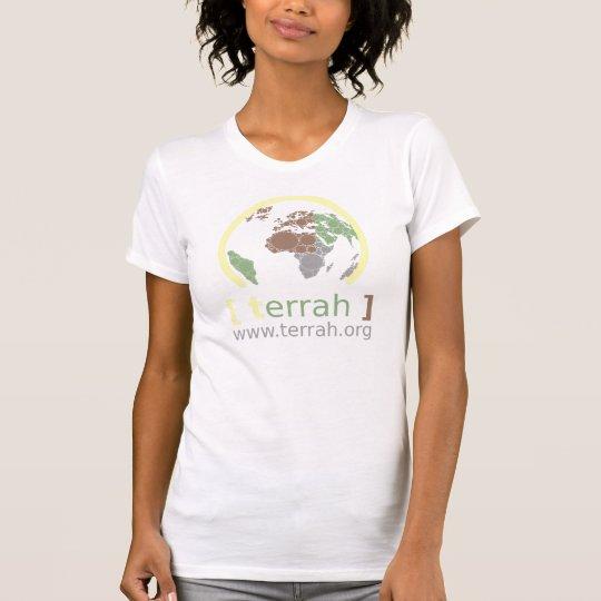 [terrah] - Frauen-T - Shirt WEISS