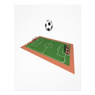 Terrain de football tract