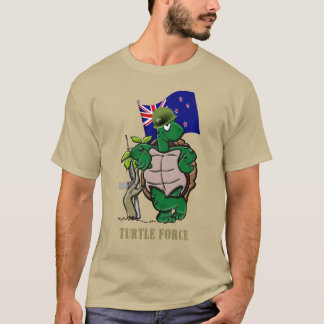 TERRITORIALE KRAFT NEUSEELANDS (SCHILDKRÖTE-KRAFT) T-Shirt