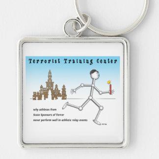 Terrorist-Schulungszentrum Schlüsselanhänger