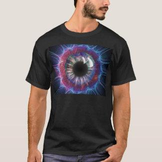 Teslas Augen-Fraktal Design T-Shirt