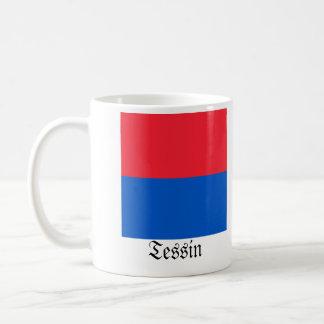 Tessin, Schweiz Fahnen Flaggen Tasse