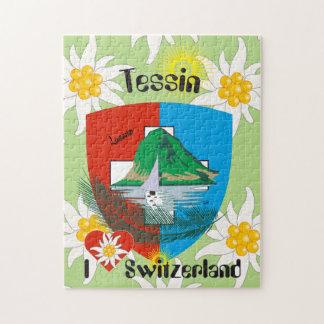 Tessin - Ticino - Schweiz - Svizzera Puzzles