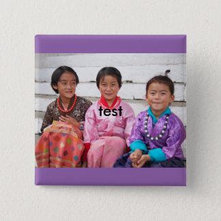 Test Quadratischer Button 5,1 Cm