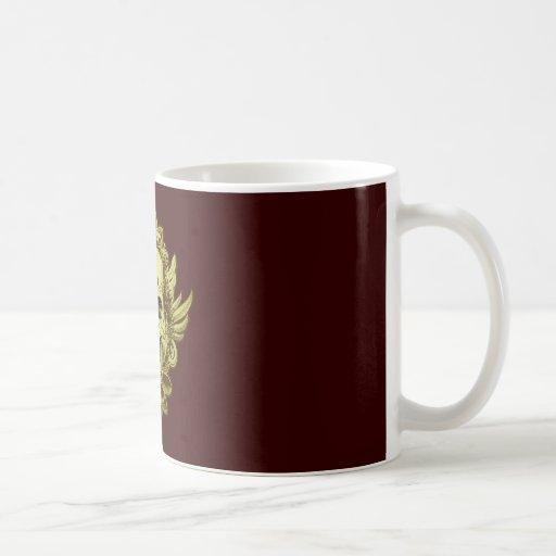 Tête de mort crâne skull tasse à café