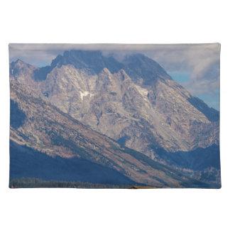 Teton Land-Landschaft Tischset