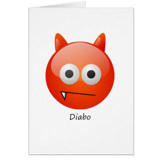 Teufel Grußkarte