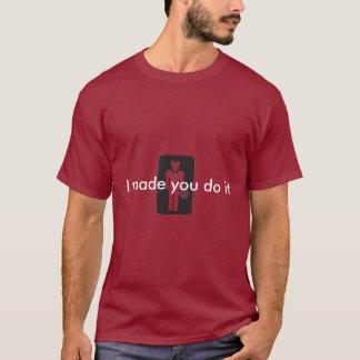 Teufel-Logokopie, machte ich Sie tue sie T-Shirt